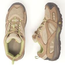 MERRELL Azura Kangaroo Brown Shoes Womens Size 8.5 Hiking Walking Tan Cushion