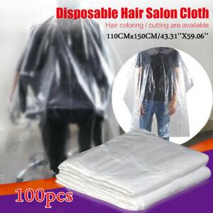 50/100/200pcs Waterproof Disposable Hair Salon Capes Washing Pads Shampoo Cape