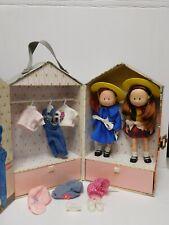 Vintage Madeline & Barbara Bemelmans Dolls Clothes Case Shoes Hats & More