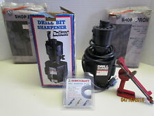 RELIANT ELECTRIC DRILL BIT SHARPENER WITH EXTRA STONE AND MORE IN ORIGINAL BOX