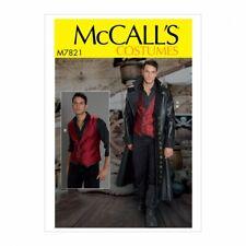 McCalls Sewing Pattern 7821 Costumes MQQ (46-48-50-52)