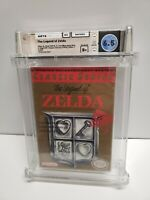 The Legend of Zelda (Nintendo, 1987) NES WATA Graded 6.5 B+ BRAND NEW SEALED