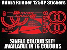 GILERA Runner 125sp calcomanías/Pegatinas-Todos Los Colores Disponibles - 172 183 Gilly