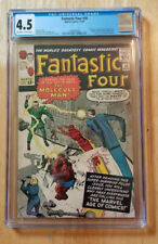 FANTASTIC FOUR #20 1963 *CGC 4.5 OW TO WP* 1ST APP OF MOLECULE MAN