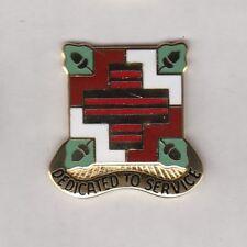 US ARMY MEDDAC FORT BELVIOR, VA. crest DUI badge c/b G-23
