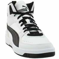 Puma Rebound Layup Joy Lace Up  Mens  Sneakers Shoes Casual   - White