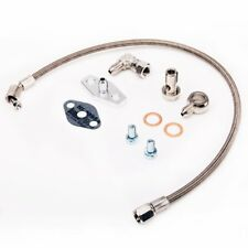 Fits Volvo740 760 940 w/ Garrett T3 T4 T03B T04B T04E B230FT Oil Feed Line Kit