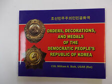 b0139 US published Book  Korea Orders Decorations and Medals R2120