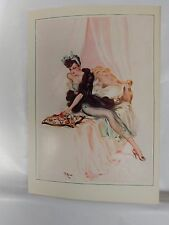 Boudoir Salon 1940s 50s  Decor Vintage print from photographers studio  Nude j