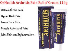 OZHEALTH Arthritis Pain Relief Cream 114g OZ HEALTH Relieving Osteoarthritis