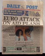 LIVERPOOL DAILY POST NEWSPAPER 09.03.94 MARCH 1994