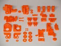 Prusa i3 MK2S 3D Drucker Teile 3D Printer Parts Kit ABS Orange
