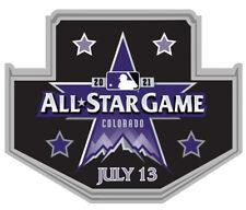 2021 Tout Étoile Jeu Collection Broche Juillet 13TH Colorado MLB Baseball Coors