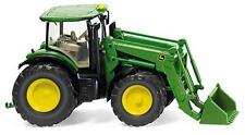 Wiking 035802 John Deere 7280R Tractor Plastic Model H0/00 Gauge T48 Post