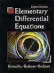 Elementary Differential Equations 8th Int'l Ed