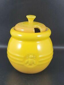 Le Creuset Yellow Honey Pot - Excellent Condition No Dipper