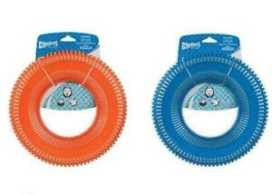 Chuckit Rugged Flyer Large - Floats Water Flight Sturdy Frisbee Disc Dog Toy