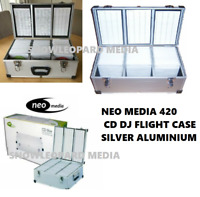 420 Neo Media DJ Aluminium Flight Carry Case Box Numberd Sleeves CD Storage New