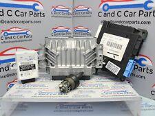 Mini Cooper S R52 Lockset 1 Key ECU W11 B16A 125kW Manual 7553735 *343