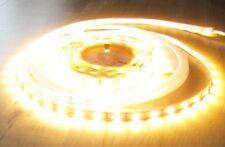 SET 6100 Lumen 5m LED Streifen mit 300 2835 LED's warmweiß superhell m. Netzteil