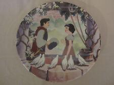 A Wish Come True collector plate Snow White And Seven Dwarfs #8 Disney