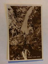 Crieff Vintage B&W Postcard c1930s Falls of Turret