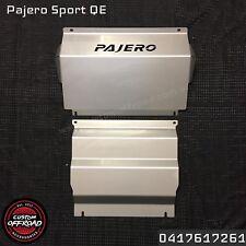 Pajero Sport QE  3mm 2 Piece Intercooler Diff/Sump Guard Bash Plates 2016/2017