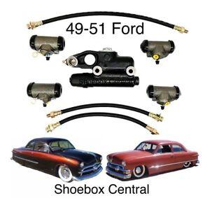 1949 1950 1951 Ford Hydraulic Brake Overhaul Kit