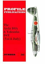 AICHI D3A & YOKOSUKA D4Y: PROFILE #241/ 7 NEWLY ADDED PAGES/ NEW PRINT