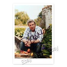 "Jamie Oliver ""The Naked Chef"" TV Koch Autogrammfoto [A05] "
