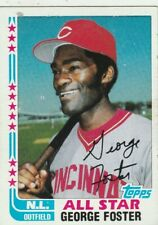 FREE SHIPPING-NRMINT TO VG-1982 Topps #342 George Foster All-Star Reds
