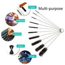 Utility Nylon Straw Brush Cleaner Bottle Tube Pipe Small Long Cleaning 10Pcs/Set