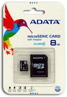 Adata 8GB 8G  Micro SD HC Class 4 TF Flash SDHC Memory Card mobile Adapter