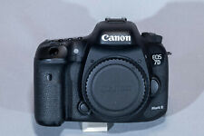 Canon EOS 7D Mark II 20.2MP Digital SLR Camera - (Body Only) Excellent Condition