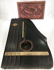 Patented 1894 F. MENZENHAUER'S Antique Vintage GUITAR ZITHER No. 2 Harp String