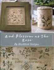And Blossom as the Rose - 20 Page Booklet - Blackbird Designs New