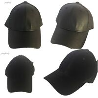 Kunstleder Baseball Kappen samt Hüte Strapback Snapback Herren & Damen