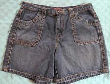 "CUTE Denim Shorts DISTRESSED Sz. 16 With 6.5"" L Nice! REDUCED"
