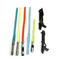 Lot 7 COLORFUL Lightsaber Fit Star Wars 3.75'' Yoda Trooper Action Figure Toy #E