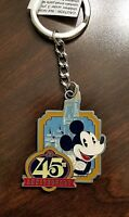 Disney Parks - Magic Kingdom 45th Anniversary Keychain - Mickey Mouse - NEW