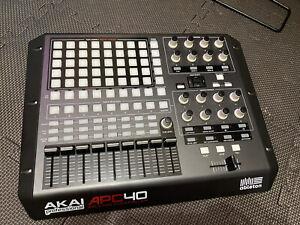 AKAI APC40 Mk1 Ableton MIDI Controller Excellent Condition