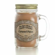 Our Own Candle Company Caramel Pecan Large 13oz Mason Jar Candle