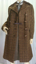 Wool Blend Tailored 1970s Vintage Coats & Jackets for Women