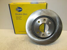 FRONT BRAKE DISC FIT PEUGEOT	207 2006-2016 1.4 1.6  HDI SW VAN HATCHBACK SALOON