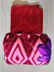 Single Ply Thick Korean Mink Blanket Super Soft Silky Single Size Woollen Stuff