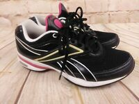 Walking shoes Reebok Easy Tone Sneakers Shoes Shape Ups Pink/Black Womens Siz 8