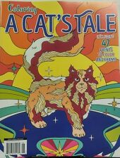 Coloring A Cat's Tale Adult Coloring Book 47 Prints to Frame FREE SHIPPING sb
