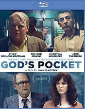 God's Pocket (Blu-ray Disc, 2014) Philip Seymour Hoffman, Christina Hendricks