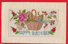 Embroidered Silk Collectable Linen Postcards
