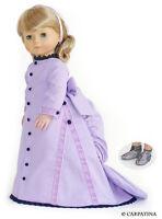 "Dress Lavender Carpatina Victorian Doll Clothes 18"" Fits American Girl Dolls"